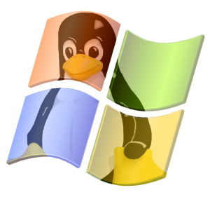 Tux+in+windows